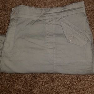 Pants - Plus size khaki capris